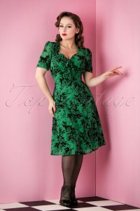 9569-77433-50s-lucie-roses-dress-in-green-full