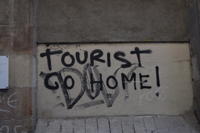 Tourist go home!