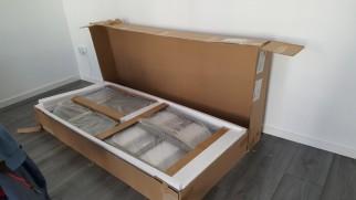 Het vitrinekast-bouwpakket